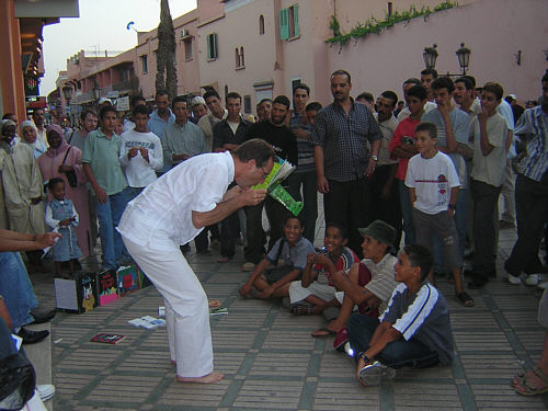 Place Jemâa el Fna à Marrakech